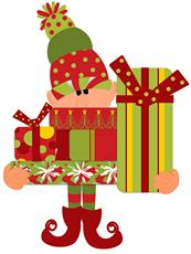 Supporters of the elves for elders gift drive